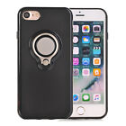 For iPhone 6 6S 7 Plus New Shockproof Case + Ring Stand For Car magnet Stand BK