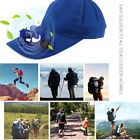 Sport Hat Cap with Solar Sun Power Cool Cooling Fan For Cycling Hiking NEW