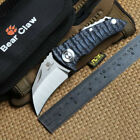 A0171 Bear claw original Parrot ball bearing folding knife D2 blade & G10 Handle