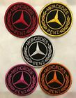 Mercedes Benz Classic Round Iron-Sew on Patch N-49