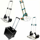 HEAVY DUTY FOLDING HAND SACK TROLLEY CART FOLDABLE BOOT CAR TRUCK SHOPPING BN