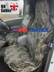 BMW E60 5 SERIES 03-10 MANUAL HEAVY DUTY GREEN CAMOUFLAGE SEAT COVERS 1+1