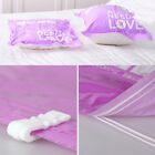 2*Vacuum Storage Bag Portable Travel Space Saver Roll Up Compression Cloth Seal