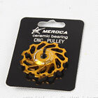 Ceramic guide wheel Bicycle Rear Derailleur 7075 Aluminum 11T MTB Road Bike