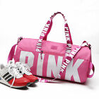 Victoria's Secret Love Pink Duffel / Gym Bag - pink black or grey- Free Shipping