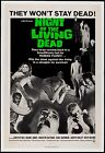 Night of the Living Dead 1968 Stretch Canvas Art Movie Poster Horror Film Print