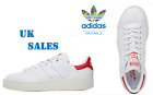New adidas Originals Womens Leather Stan Smith Bold Trainers