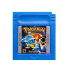 Pokemon Gameboy Advance Multi-Color GBA & GBC Game Cards US Version Reproduction