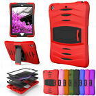 For Apple iPad Mini 1 2 3 4 Full Body Protective Hybrid PC Armor Stand Case