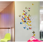 GOOD 21 Colourful Butterflies Wall Art Stickers Wall Decal Home Decoration