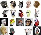 Animal Alien Latex Mask Dog Lion Monster Monkey Full Head Fancy Carnival Costume