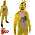 Chica Boys Fancy Dress Halloween Five Nights at Freddys Kids Childrens Costume