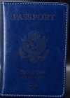 US PASSPORT COVER HOLDER WALLET TRAVEL CASE  LEATHER NEW HANDMADE