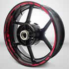 Motorcycle Rim Wheel Decal Accessory Sticker for Triumph Sprint 1050 ST $54.9 USD