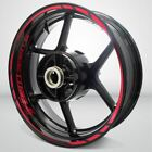 Motorcycle Rim Wheel Decal Accessory Sticker for Triumph Street Triple 675 $53.07 USD on eBay