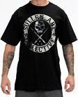 Sullen Pin Up Punk Street Gothic Rockabilly Tattoo Mens Tee BADGE OF HONOR GREY