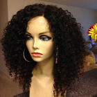 "12""-22"" Pre-Plucked Kinky Curly  360 Lace Frontal Wigs 180% Density Beauty Wigs"