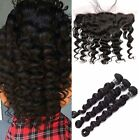 Peruvian  Body Wave Pre Plucked  Ear to Ear  13x4 Lace Frontal with 3 Bundles