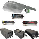 600W Hydroponic Plastic Metal Magnetic Digital Ballast Bulb Reflector Light Kit