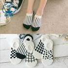 5-10 Pairs Womens  Invisible No Show Nonslip Liner Low Cut Cotton Boat Socks