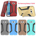 NEW Shockproof PC & TPU Defender Kickstand Case Cover For Samsung Galaxy J7 2016