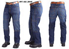 Motorbike Protective Blue Denim Jeans With Kevlar Protection Lining CE Armours