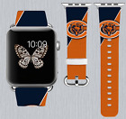 Chicago Bears Apple Watch Band 38 40 42 44 mm IWatch PU Leather Strap 175 on eBay