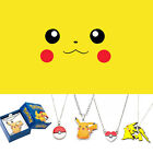 Pokemon Pikachu Poke Ball Trainer Necklace Pokemon Go Sun & Moon Card Game