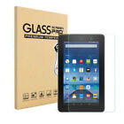 "New For Amazon Kindle Fire 7 / HD 8"" (2017) Tempered Glass Screen Protector Film"