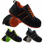 MENS LADIES STEEL TOE CAP  ULTRA LIGHTWEIGHT SAFETY WORK TRAINERS SHOES BOOTS SZ