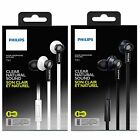 Philips TX1 Clear Natural Sound HeadsFree Mic For iPhone Android Smart Phone