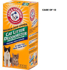 ARM &amp; HAMMER Cat Litter Deodorizer With Activated Baking Soda 20 oz CASE OF 12  <br/> BIG SAVINGS BUY BY THE CASE