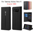 GEBEI Leather Magnetic Flip Stand Leather Wallet Case For Samsung Galaxy Note 8