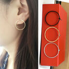 Fashion Women Earrings Simple Circle Geometrical Ear Stud Earrings Jewelry