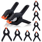 """1-20 Pcs 2"""" inch Mini Plastic Spring Clamps Tips Tool Clip 1.18"""" Jaw Opening HOT"""