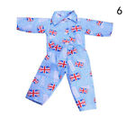 New Fashion A Set of Mini T-shirt + Jeans For 18 Inch Boy Doll Accessory Gift