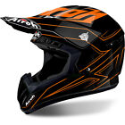 Airoh NEW Mx 2018 Switch Spacer Gloss Orange Black Motocross Dirt Bike Helmet