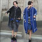 2017 Lady Korean winter warm fur coat long causual loose reversible parka jacket