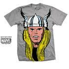 Thor T-Shirt Marvel Comics Avengers Head Print Great Gift for any fan