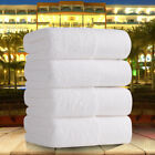 Cotton Bath Towel White Thick Soft Strong Salon Absorbent Ho