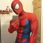 spiderman costume adult halloween cosplay mask spandex