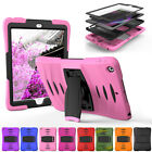 Shockproof Hybrid Rubber Stand Hard Case Cover For iPad 9.7 Inch 2017 5th Gen
