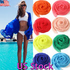 Us Summer Women Soft Scarf Wrap Shawl Stole Scarves Chiffon Pashmina Beach New
