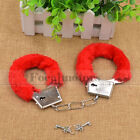 Unisex - Adult Night Party Game Handcuffs Adult Fantasy Favor Black Red Sex Toy Cosplay