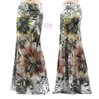 Floral Animal Sublimation maxi long skirt S/M/L/XL/1XL/2XL/3XL