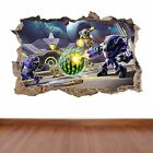 Meteroid Prime Federation Force hole in the wall sticker decal kids fun games