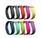 Small Large Replacement Colored Wristband W/ Clasp for Fitbit Flex Band Bracelet