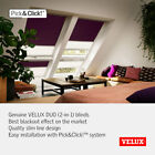 Genuine VELUX DUO Blinds: Blackout and Pleated In One 12 NEW Blackout Colours