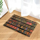 Bookcases and books Shower Curtain Bathroom Waterproof Fabric & 12hooks 71*71in