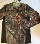 Men's M UNDER ARMOUR Scent Control REALTREE CAMO Heat Gear LONG Sleeve SHIRT NWT